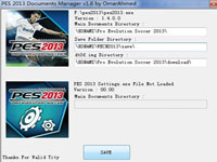 PES2013存档目录修改器Documents_Manager_v1.6